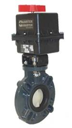 Electric Act. Butterfly Valve