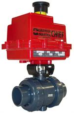 Asahi Series 92 Electric Act. Ball Valve