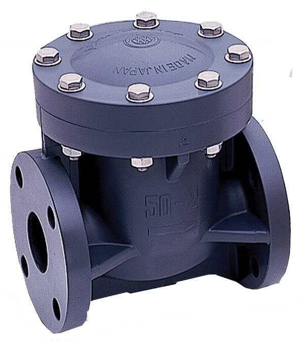 2 Quot Pvc Epdm Flanged Swing Check Valve